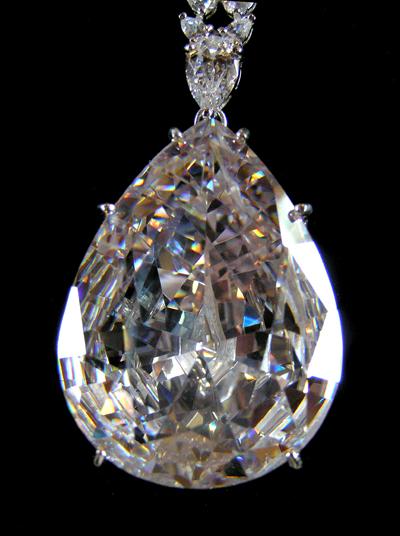Jewelry Prop Shop Replica of the Taylor-Burton Diamond