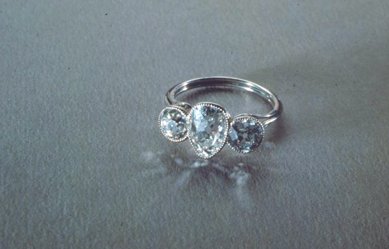 Diamond Ring from Jewels of Titanic Exhibition