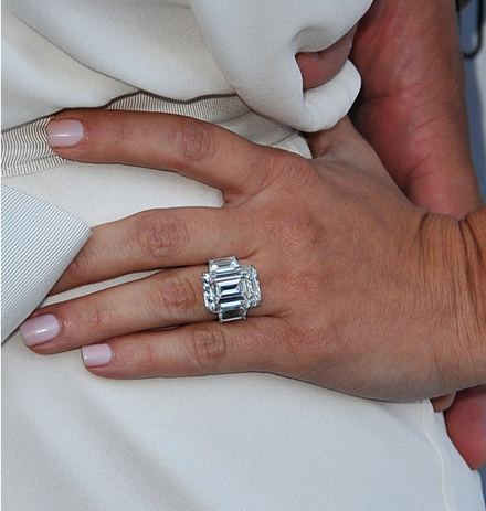 Kim Kardashian's engagement ring from Kris Humphries