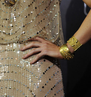 Kate Beckinsale in Amrapali Jewelry at the Underworld: Awakening Premiere