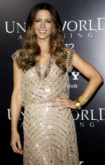 Kate Beckinsale in Amrapali Jewelry at the Underworld: Awakening Premiere