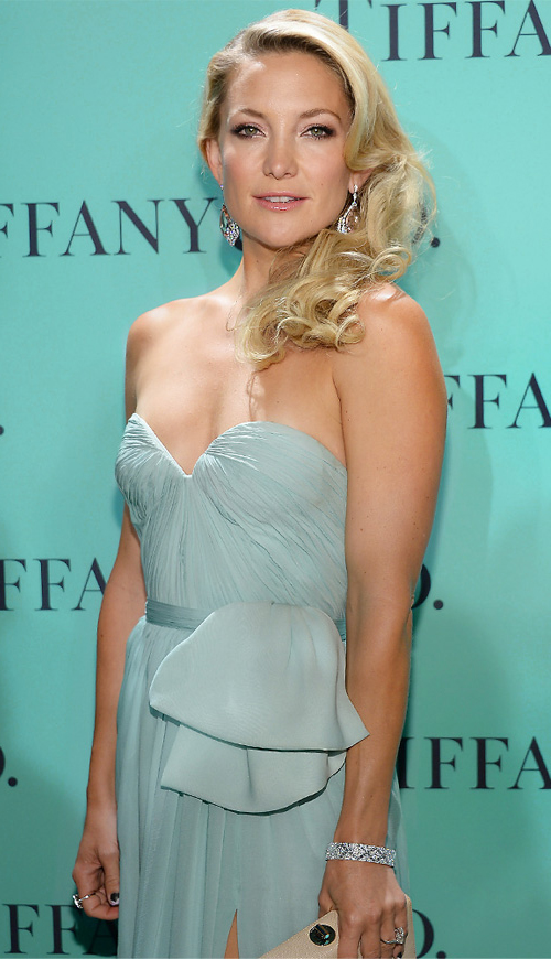Kate Hudson Tiffany 2013 Blue Book Ball