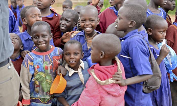 School children, Kitarini, Tanzania. Image courtesy of Sharing the Rough.
