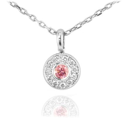 Fancy Pink Diamond Pendant by Leibish & Co.