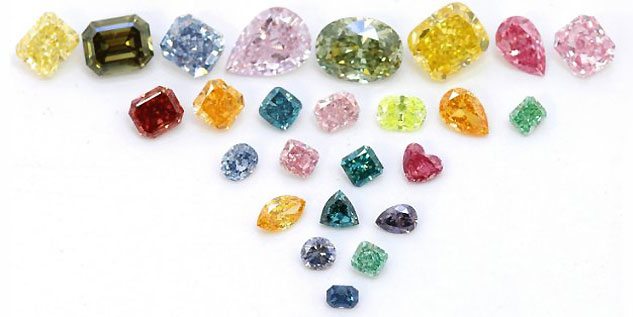 Leibish & Co. - Fancy Colored Diamonds 2014 Assortment