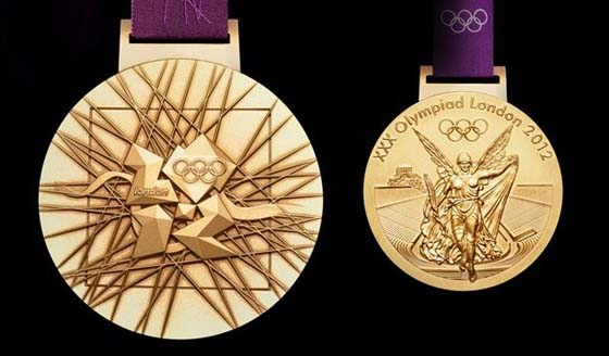 2012 London Summer Olympics Gold Medal