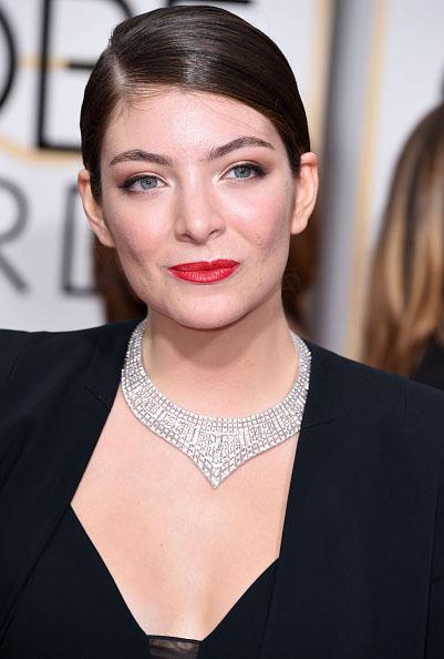 2015 Golden Globes Lorde