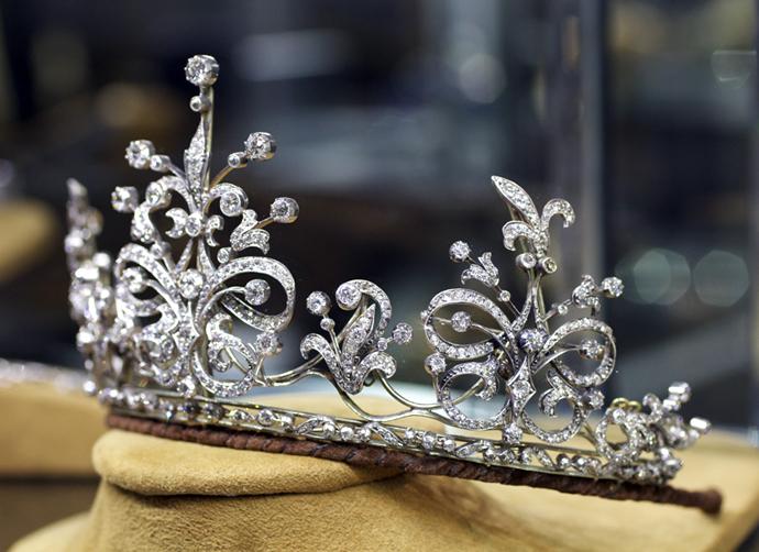 Victorian Diamond Tiara from M. Khordipour • Image: Erika Winters