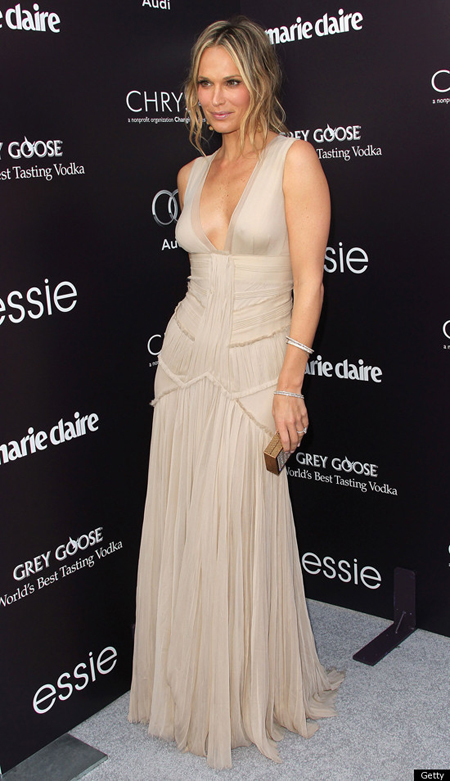 Molly Sims Engagement Ring at Chrysalis Butterfly Ball