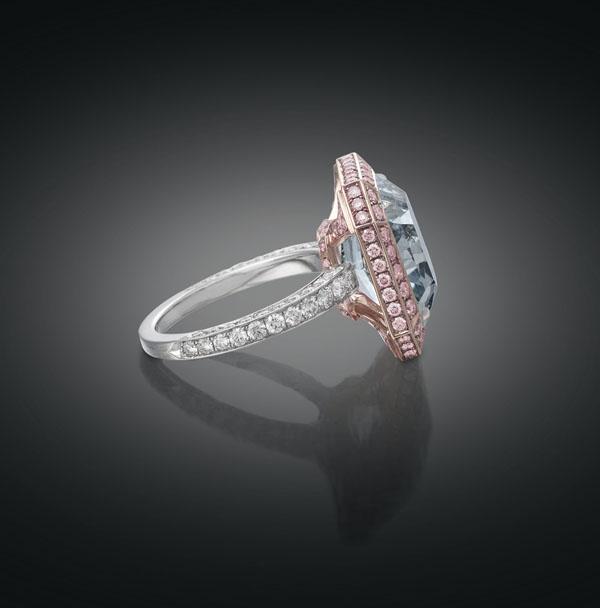 """M S Rau Antiques Debuts 10 carat """"Royal Blue"""" Diamond"""