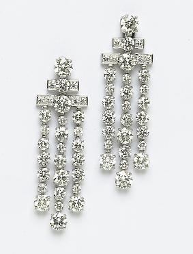 Bulgari diamond earrings Madonna wore at the Super Bowl XLVI halftime show