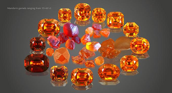 Spessartite Garnets from Terra Garnet by Vladyslav Y. Yavorskyy