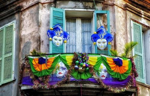 Mardi Gras 2016 Balcony