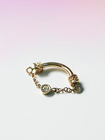 Venus by Maria Tash diamond septum ring at Free People