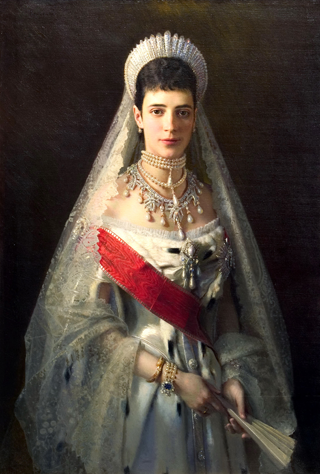 Portrait of Maria Feodorovna, Empress consort of Russia