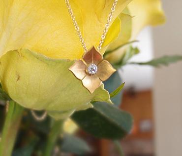 McTeigue & McClelland Quadrille Diamond Pendant