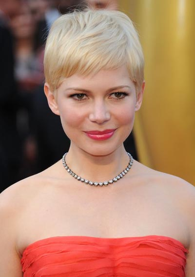 Michelle Williams 2012 Academy Awards