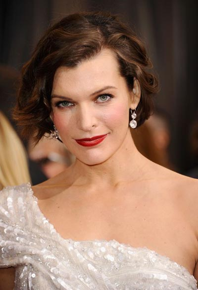 Milla Jovovich 2012 Academy Awards