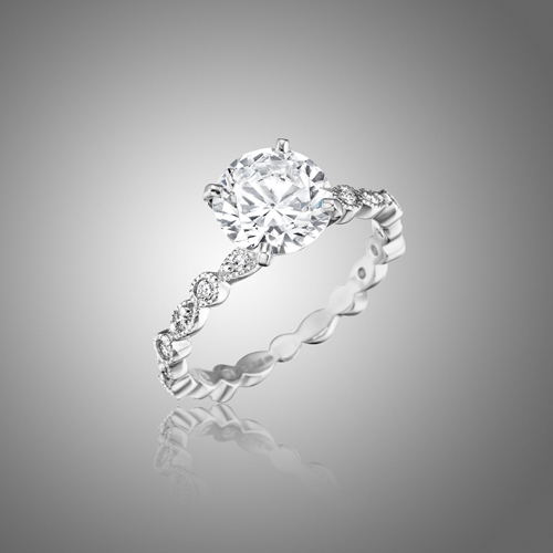 Mimi So Madrid Diamond Engagement Ring Setting