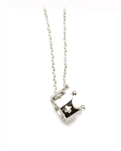 Crown charm necklace by Kamofie