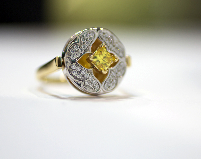 Nurture by Reena - Moments Collection - Lab-Grown Diamond Ring • Image Erika Winters