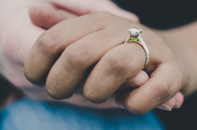 Jewel Of The Week A Lovely Symbolic Engagement Ring With Octavia