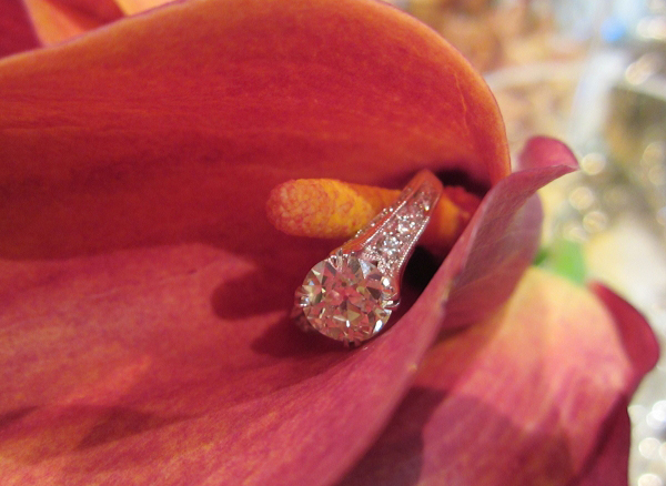 Vintage-Style Solitaire with Old European Cut Diamond