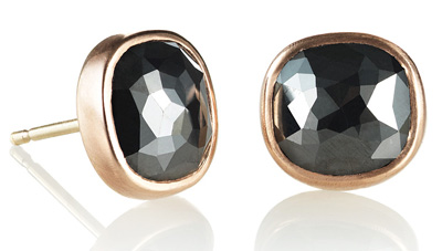 Katrina LaPenne Old World Black Diamond Studs