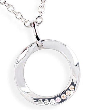 Limited Edition O necklace with Argyle Pink Diamonds