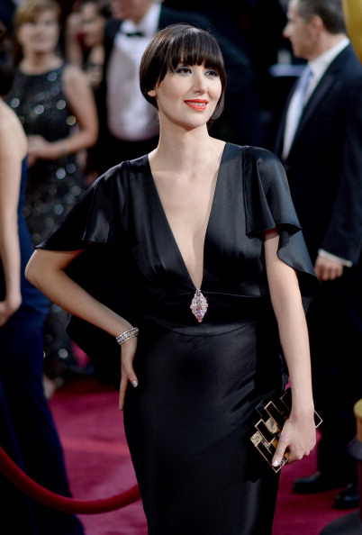 2014 Oscars Karen O in Neil Lane jewelry
