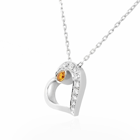 Yellow Diamond Pendant from Leibish & Co.