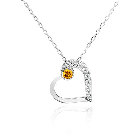 Yellow Diamond Pendant from Leibish & Co.