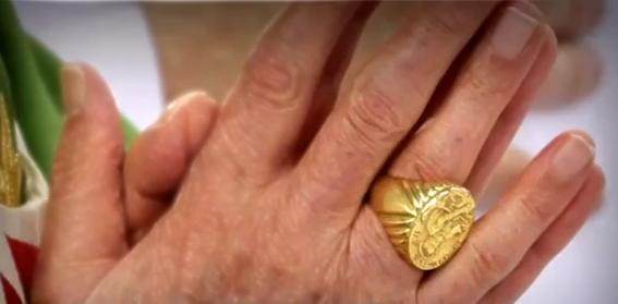 Pope Benedict XVI ring