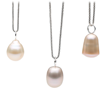 Baroque Freshwater Pearl Pendants from Pearl Paradise