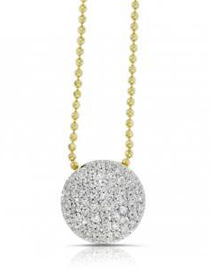 Phillips House diamond Infinity necklace