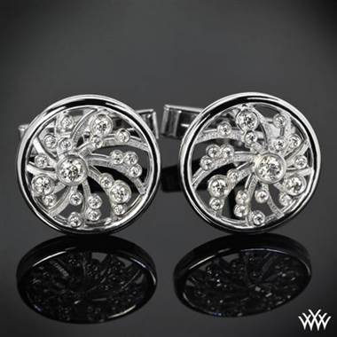 Platinum Dreams of Africa™ Cufflinks at Whiteflash