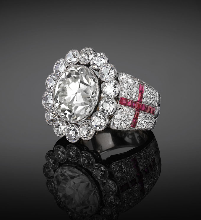 Pope Paul VI Diamond Ring