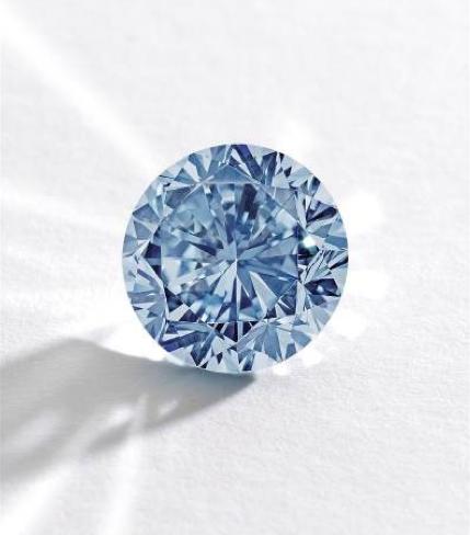 The Premier Blue • 7.59-carat fancy vivid blue diamond • Sotheby's