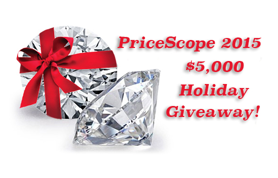 PriceScope 2015 $5,000 Holiday Giveaway