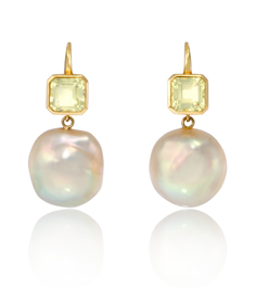Ray Griffiths pearl earrings at Stone&Strand
