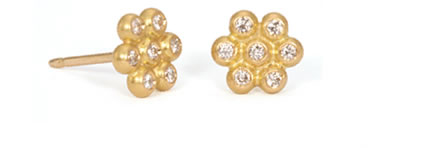 Reinstein Ross Snowdrop diamond earrings