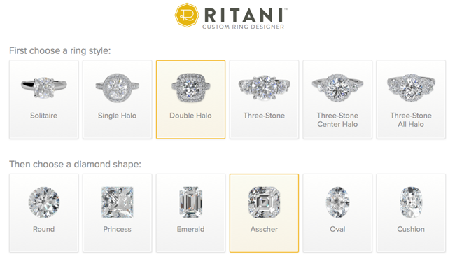Ritani Custom Ring Designer