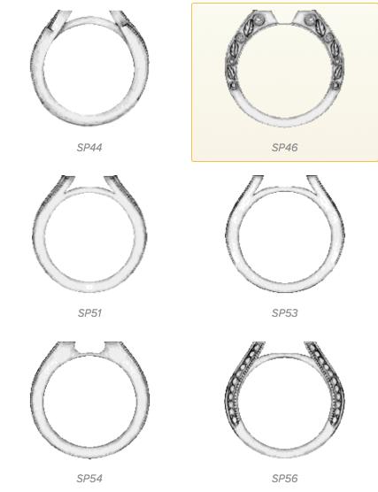 Ritani Custom Ring Designer Ring Sides