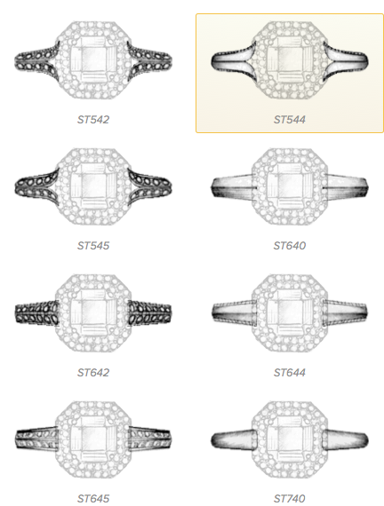 Ritani Custom Ring Designer Ring Tops