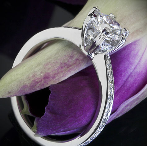 Ritani Diamond Engagement Ring Setting from Whiteflash