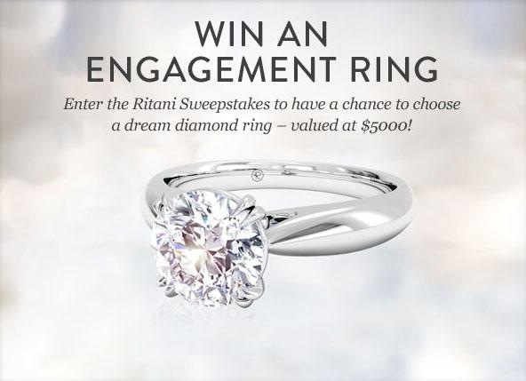 Ritani Engagement Ring Sweepstakes