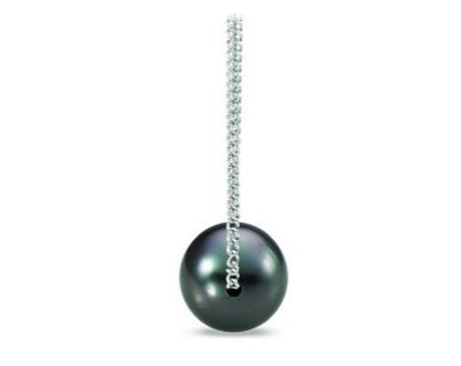 Tahitian cultured pearl pendant from Ritani