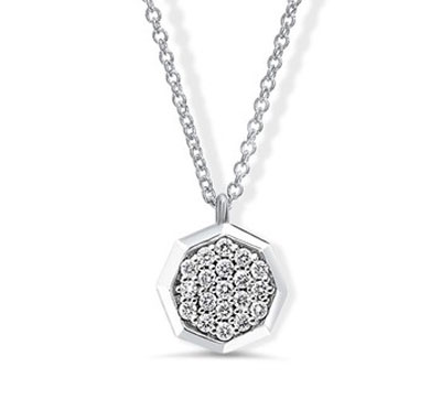 Door Prize PS GTG 2016:  Signature Diamond Octagon Pendant from Ritani