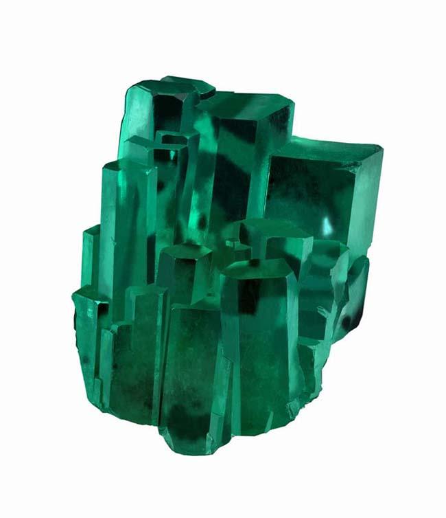 Emerald City crystal specimen from Robert Procop's emerald tour