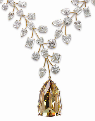 Mouawad's L'Incomparable diamond necklace